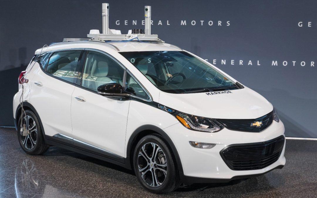 GM relata 13 acidentes com carros autônomos na Califórnia e diz que foram causados por terceiros